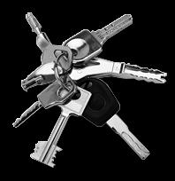 clés, serrures 25